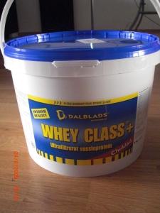 Whey 80- Dalblads i chokladsmak..Mmmm