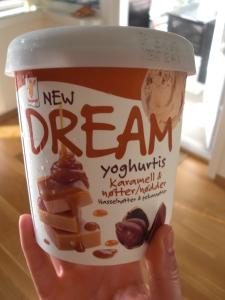 Dream glass i smaken karamell & nötter