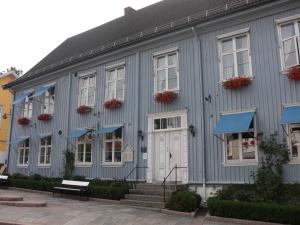 Det fina biblioteket i Dröbak