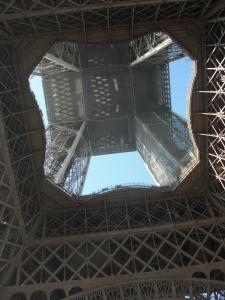 Invändigt i tornet på väg upp,häftig upplevelse