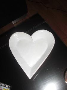 Trähjärta-Passar till allt